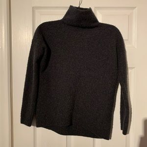 NWT Tahari Luxe Cashmere Gray Sweater Small Turtle
